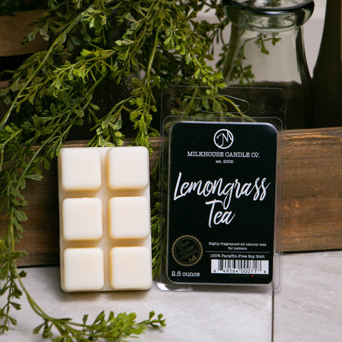 Lemongrass Tea 5.5 oz. Fragrance Melt by Milkhouse Candle Creamery