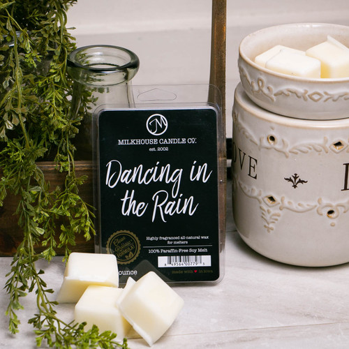 Dancing in the Rain Fragrance Melt by Milkhouse Candle Creamery