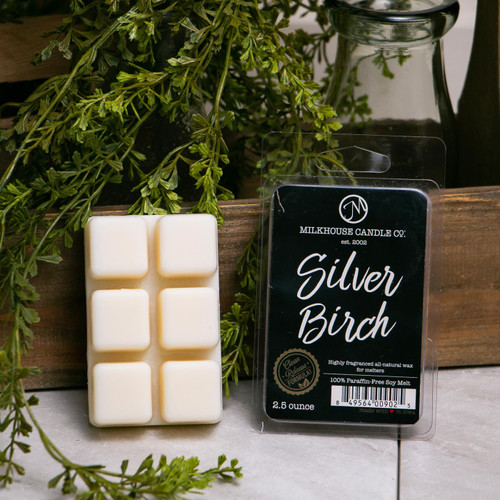 Silver Birch Fragrance Melt by Milkhouse Candle Creamery