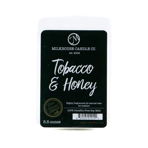 Tobacco & Honey Fragrance Melt by Milkhouse Candle Creamery
