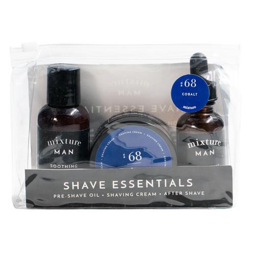 No. 68 Cobalt Mixture Man Shave Essentials Gift Set by Mixture