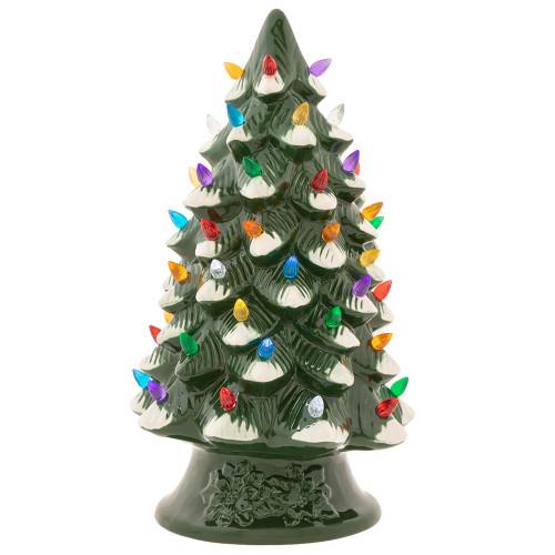 Holiday SplendorCeramic Light Tree by Christopher Radko