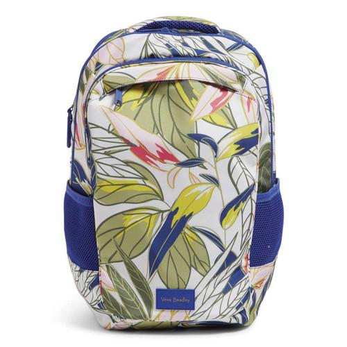 ReActive Grand Backpack Rain Forest Leaves by Vera Bradley