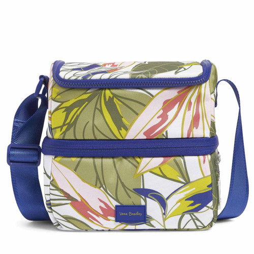 ReActive Expandable Lunch Cooler Rain Forest Leaves by Vera Bradley