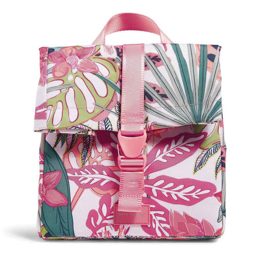ReActive Lunch Tote Rain Forest Canopy Coral by Vera Bradley