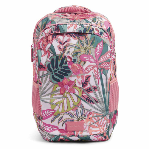 ReActive XL Backpack Rain Forest Canopy Coral by Vera Bradley