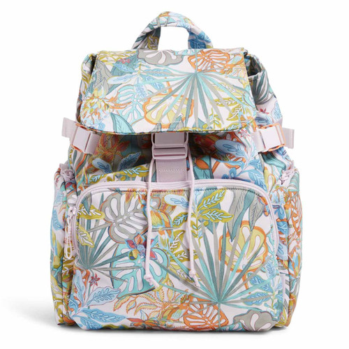 Utility Backpack Rain Forest Canopy by Vera Bradley