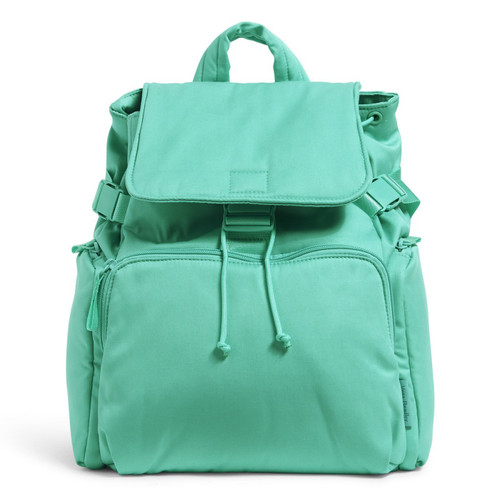 Utility Backpack Turquoise Sky by Vera Bradley