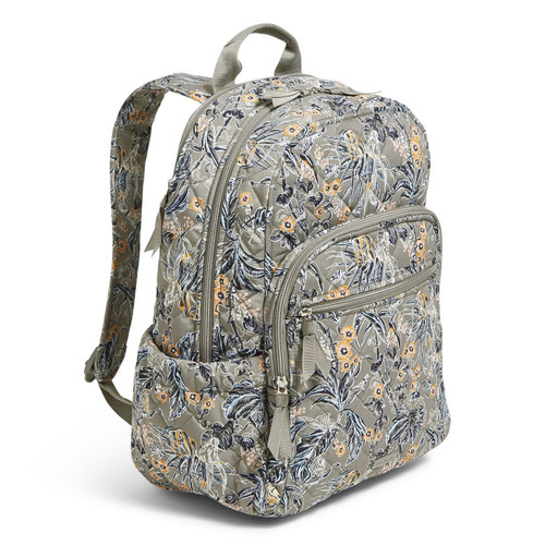 Campus Backpack Rain Forest Toile by Vera Bradley