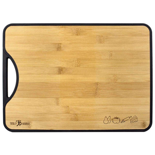 Poly-Boo Reversible Bamboo and Poly Cutting Board by Totally Bamboo