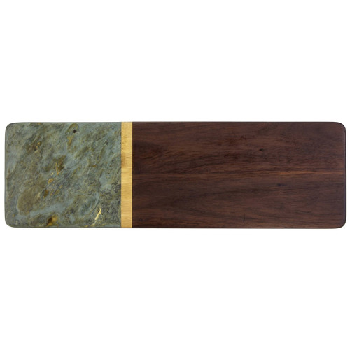 Rock and Branch Series Slate and Acacia Serving Board by Totally Bamboo
