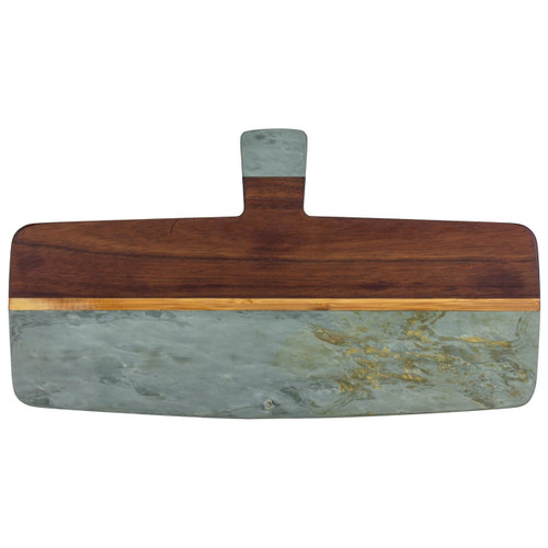 Rock and Branch Series Slate and Acacia Serving Paddle by Totally Bamboo