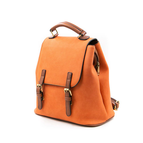 Brooks Backpacks in Burnt Coral by Jen & Co.