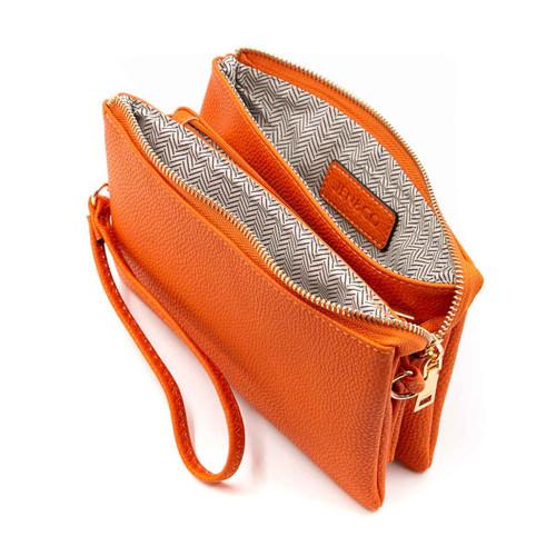 Riley Crossbody in Orange by Jen & Co.