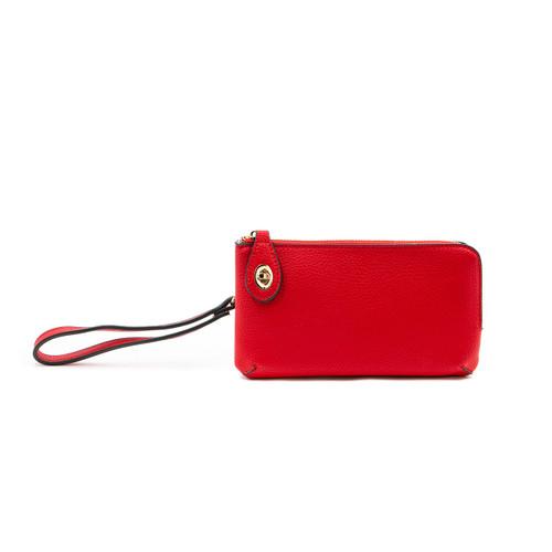 Kendall Crossbody in Red by Jen & Co.