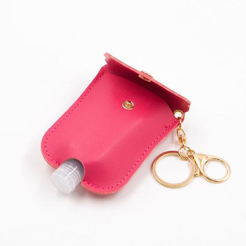 Hot Pink Scalloped Hand Sanitizer by Jen & Co.