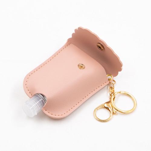 Light Pink Scalloped Hand Sanitizer by Jen & Co.