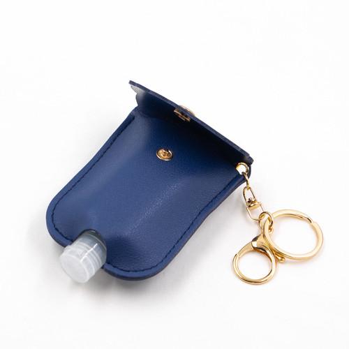 Navy Blue Scalloped Hand Sanitizer Caddy by Jen & Co.