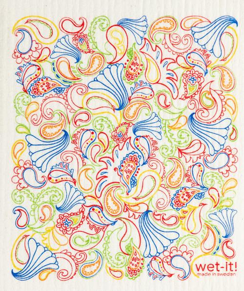 Paisley Multi Color - PAI by Wet-It!