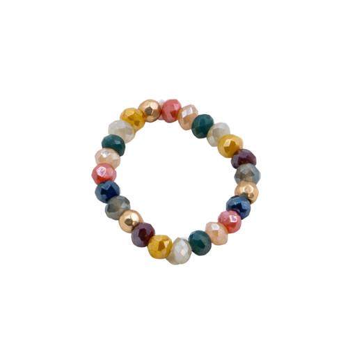Multi Stretch Cystal Ring by Splendid Iris