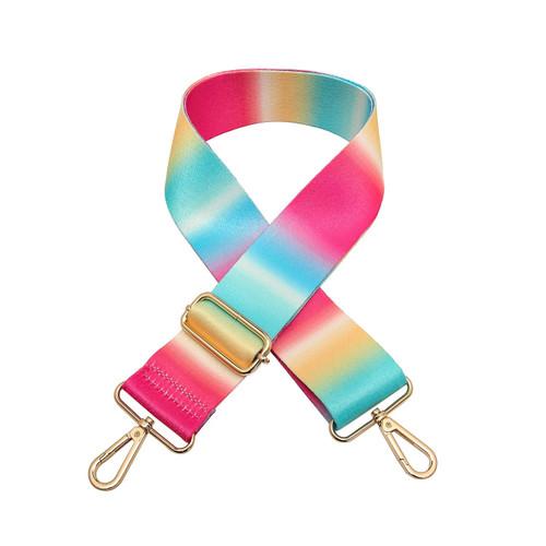 Adjustable Guitar Strap In Tie Dye 2 by Jen & Co.