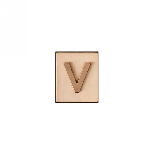 """V"" AKA Monogram Letter & Icon Spacer by Spartina 449"