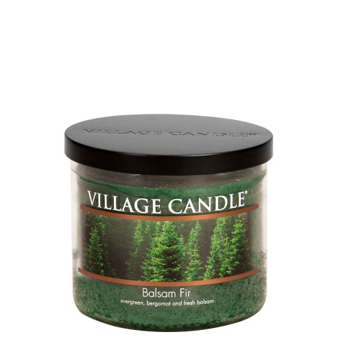 Balsam Fir Medium Bowl Jar Candle by Village Candle