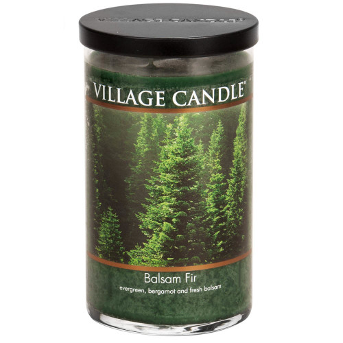 Balsam Fir Large Jar Candle by Village Candle