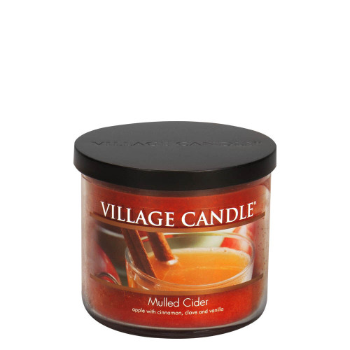 Mulled Cider Medium Bowl Jar Candle by Village Candle