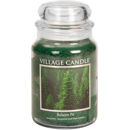 Balsam Fir Traditions Large Dome Jar Candle by Village Candle