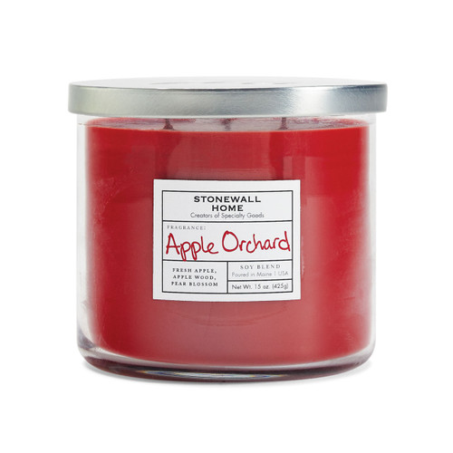 Apple Orchard Medium Bowl Jar Candle by Stonewall Home