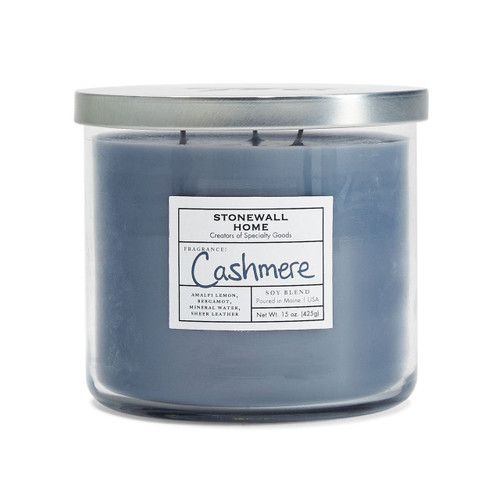 Cashmere Medium Bowl Jar Candle by Stonewall Home