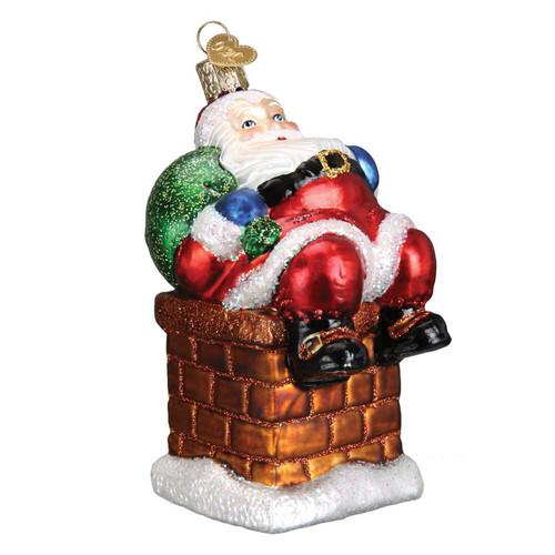 Chimney Stop Santa by Old World Christmas