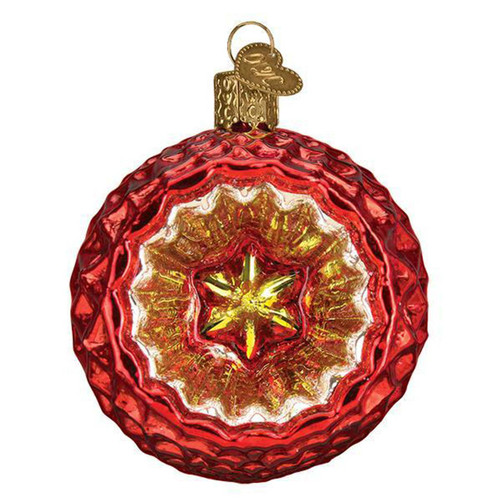 Faceted Crimson Reflection by Old World Christmas