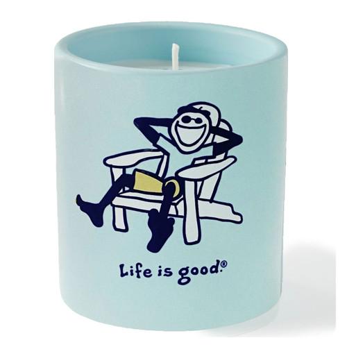 Jake Adirondack- Bamboo, Ylang Ylang, Teak Life is Good Premium Soy Candle by A Cheerful Giver