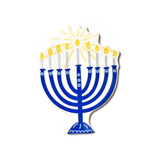 Blue Menorah Big Attachment by Happy Everything