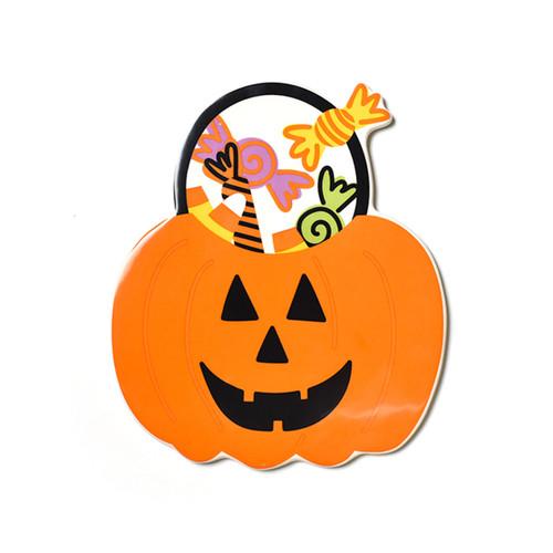 Pumpkin Treat Basket Big Attachment by Happy Everything