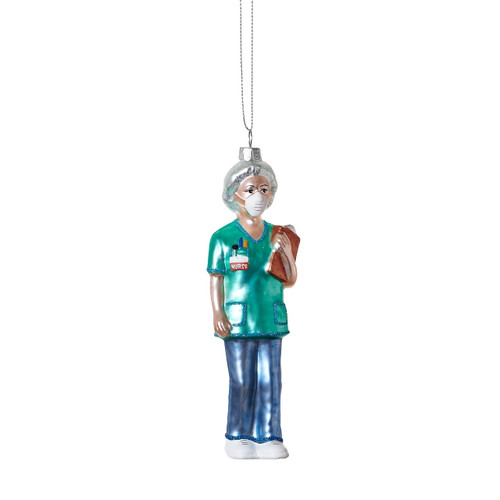 Nurse Ornament, Glass by One Hundred 80 Degrees