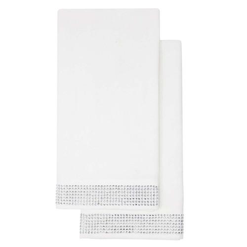 Napkin (Set of 2) - White by Sparkles Home
