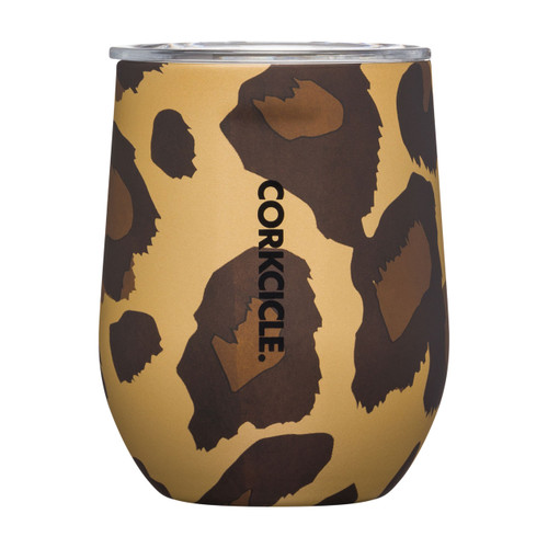 Stemless 12 oz. Luxe Leopard by Corkcicle