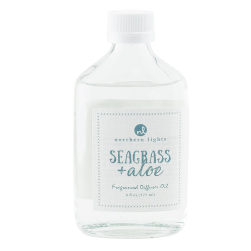 Seagrass & Aloe Diffuser Oil Refill by Northern Lights