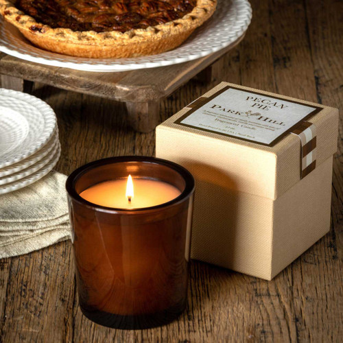 Pecan Pie - Amber Glass with Gift Box by Park Hill Collection