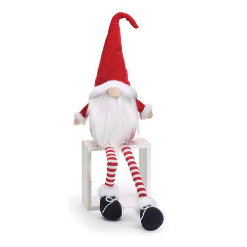 Long Leg Santa Gnome by Burton+Burton
