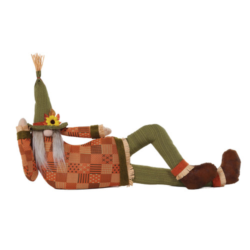 Lounging Gnome Draft Dodger by Special T Imports | Green