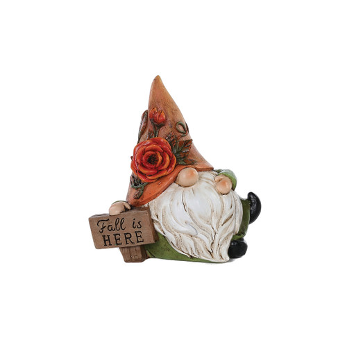 Fall Is Here Gnome Figurine by Special T Imports