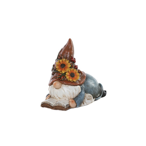 Fall Reading Gnome by Special T Imports