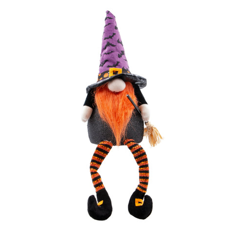 Orange Witch Gnome Shelf Sitter by Special T Imports