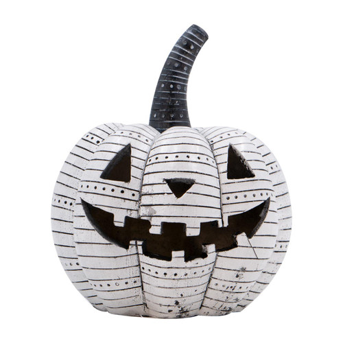 White-Striped Jack O'Lantern by Special T Imports