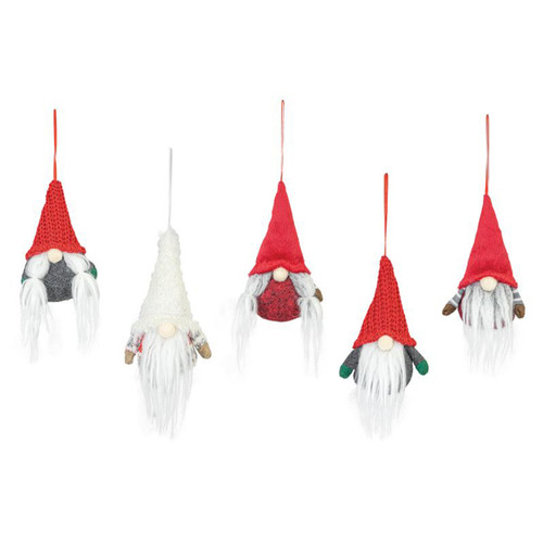 Gnome Ornament Set by Hanna's Handiworks