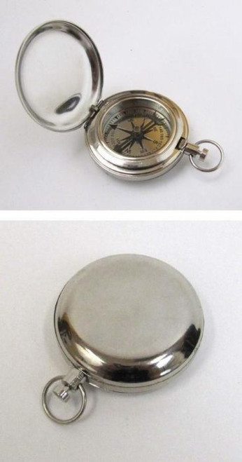 Real Simple A Handtooled Handcrafted Chrome Plated Dalvey Compass